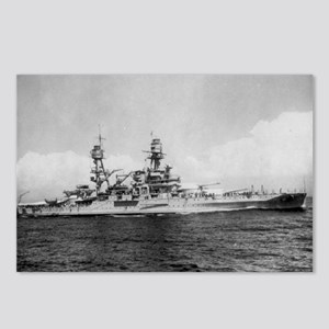 USS Pennsylvania Ship's Image Postcards (Package o