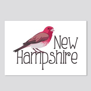 New Hampshire Finch Postcards (Package of 8)