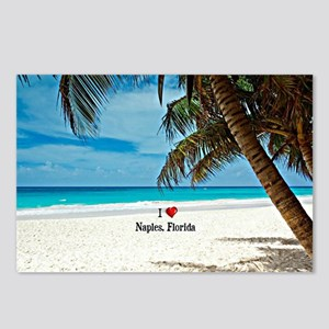 I Love Naples, Florida Postcards (Package of 8)