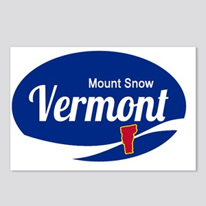 Mount Snow Ski Resort Ver Postcards (Package of 8)