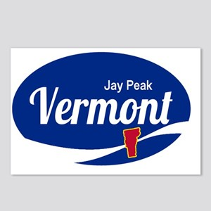 Jay Peak Ski Resort Vermo Postcards (Package of 8)