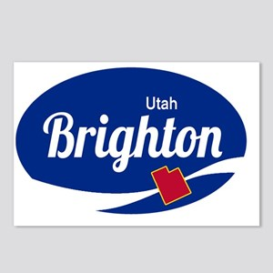 Brighton Ski Resort Utah Postcards (Package of 8)
