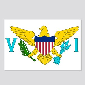 United States Virgin Islands Postcards (Package of