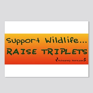 Support Wildlife - Raise Trip Postcards (Package o