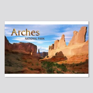 Park Avenue at Arches Nat Postcards (Package of 8)