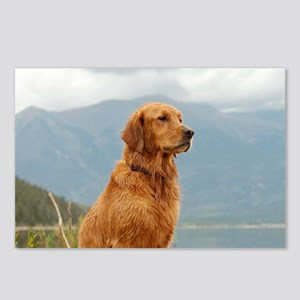 Golden Retriever Lake Postcards (Package of 8)