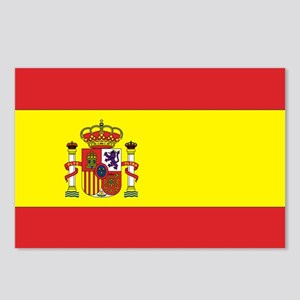 Spanish Flag Postcards (Package of 8)