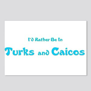 Id Rather Be...Turks and Caicos Postcards (Pac