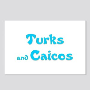 Turks and Caicos Postcards (Package of 8)