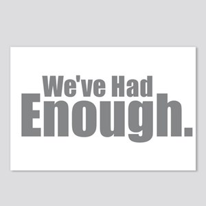 We've Had Enough Postcards (Package of 8)