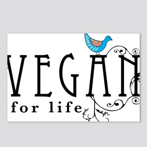 vegan-border2 Postcards (Package of 8)