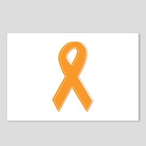 Orange Aware Ribbon Postcards (Package of 8)