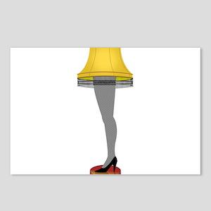 leg lamp Postcards (Package of 8)