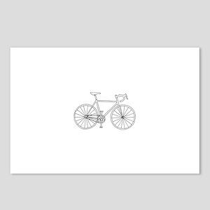 road bike Postcards (Package of 8)