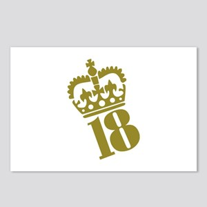 18th Birthday Postcards (Package of 8)
