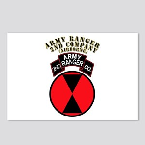 SOF - Army Ranger - 2nd Company Postcards (Package