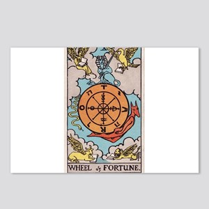 """Wheel of Fortune"" Postcards (Package of 8)"