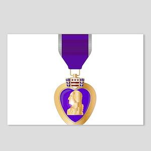 Purple Heart Medal Postcards (Package of 8)