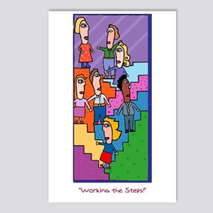 Steps Postcards (Package of 8)
