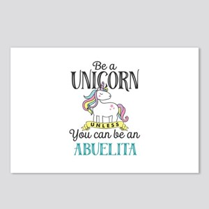 Unicorn ABUELITA Postcards (Package of 8)