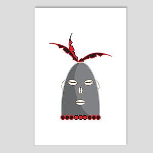 Eleggua Head Postcards (Package of 8)