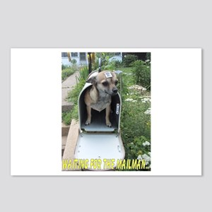Waiting for the Mailman Postcards (Package of 8)