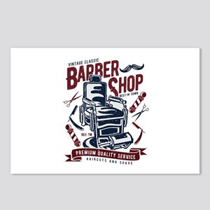 Barber Shop Postcards (Package of 8)