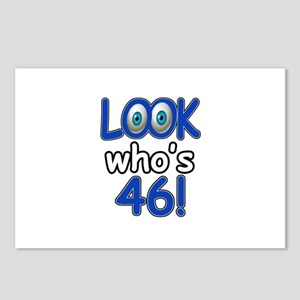 Look who's 46 Postcards (Package of 8)