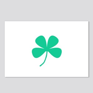 Green Irish Pride Shamroc Postcards (Package of 8)