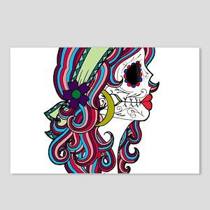 Sugar Skull 070 Postcards (Package of 8)