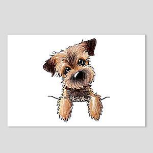 Pocket Border Terrier Postcards (Package of 8)