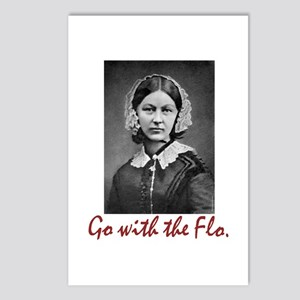 Go with Florence Nighting Postcards (Package of 8)