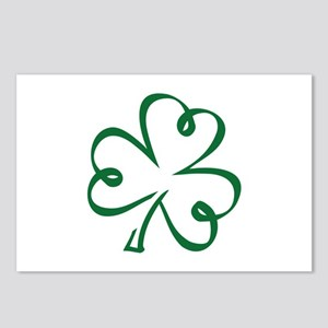 Shamrock clover Postcards (Package of 8)