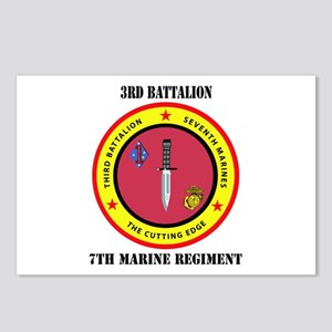 2nd Battalion 7th Marines Postcards (Package of 8)