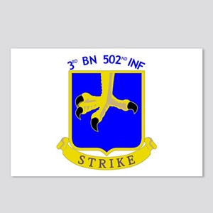 3rd BN 502nd INF Postcards (Package of 8)