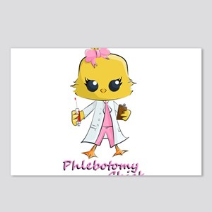 Phlebotomy Chick Postcards (Package of 8)