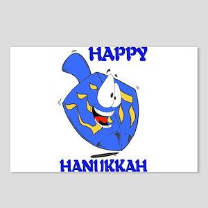 HAPPY HANUKKAH Postcards (Package of 8)