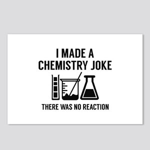 I Made A Chemistry Joke Postcards (Package of 8)