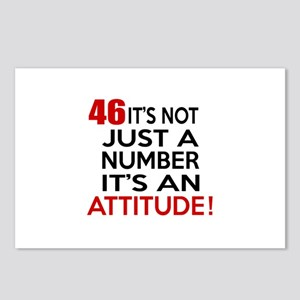 46 It Is Not Just a Numbe Postcards (Package of 8)
