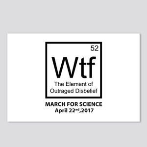 Wtf Outraged Disbelief Postcards (Package of 8)