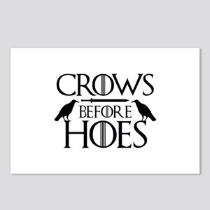 Crows Before Hoes Postcards (Package of 8)