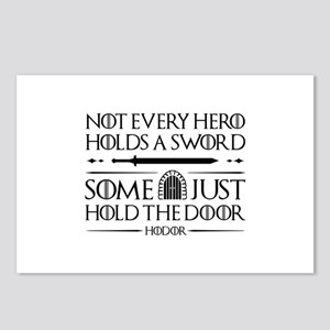 Some Just Hold The Door Postcards (Package of 8)