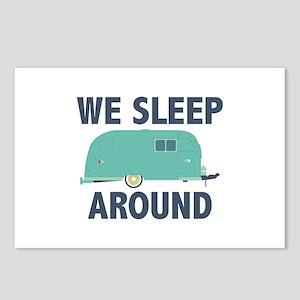 We Sleep Around Postcards (Package of 8)