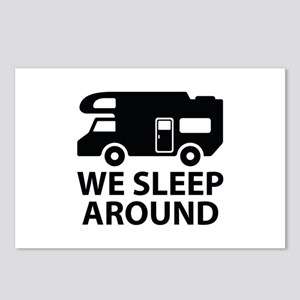 We Sleep Around Postcards (Package of 8)
