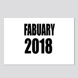 February 2018 Birthday De Postcards (Package of 8)