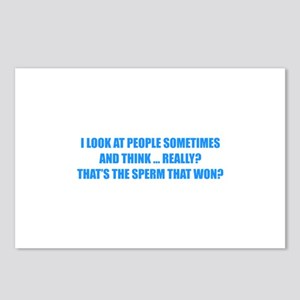 Sperm That Won Postcards (Package of 8)