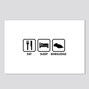 Eat Sleep Bobsledge Postcards (Package of 8)