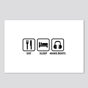 Eat Sleep Make Beats Postcards (Package of 8)