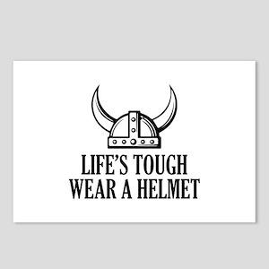 Wear A Helmet Postcards (Package of 8)