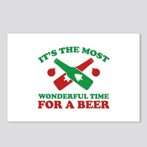 It's The Most Wonderful Time For A Beer Postcards